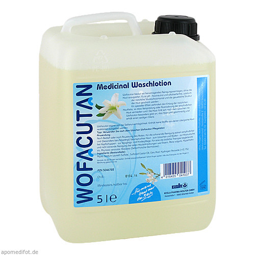 Wofacutan Medicinal Waschlotion, 5 L, Kesla Pharma Wolfen GmbH