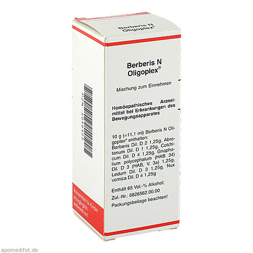 Berberis N Oligoplex, 50 ML, MEDA Pharma GmbH & Co.KG