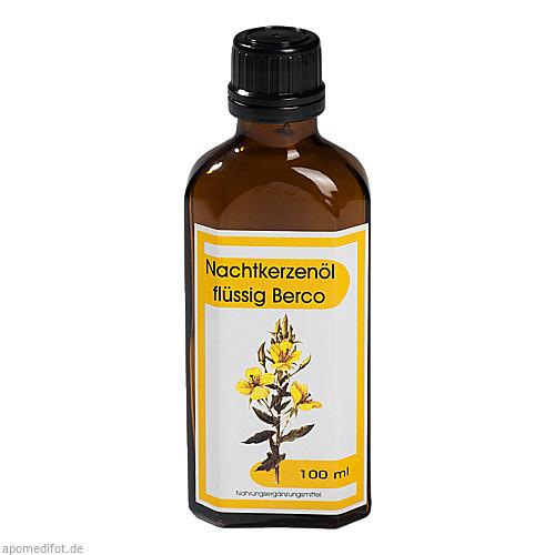 Nachtkerzenoel flüssig Berco, 100 ML, Berco-ARZNEIMITTEL