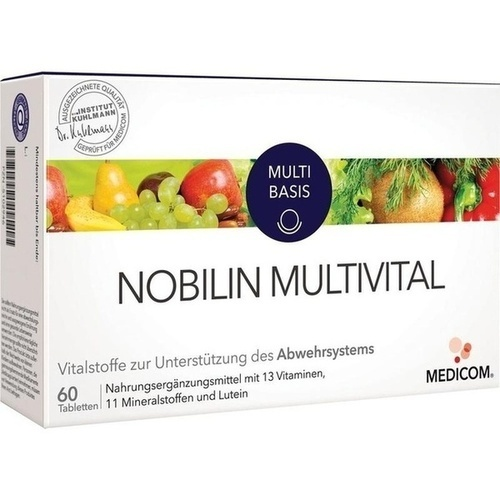 Nobilin Multi-Vital, 60 ST, Medicom Pharma GmbH