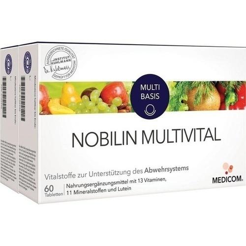 Nobilin Multi-Vital, 2X60 ST, Medicom Pharma GmbH