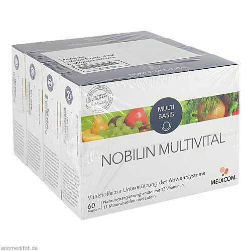 Nobilin Multi-Vital, 4X60 ST, Medicom Pharma GmbH