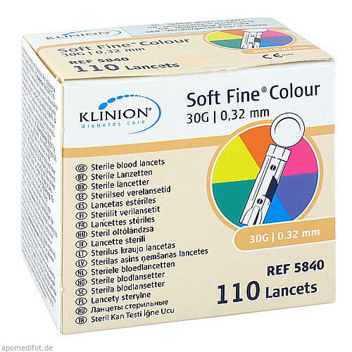 Klinion Soft fine colour 30g, 110 ST, Eu-Medical GmbH