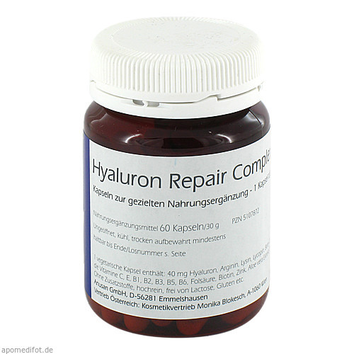Hyaluron Repair Complex, 60 ST, Anusan Gesundheitsprodukte GmbH