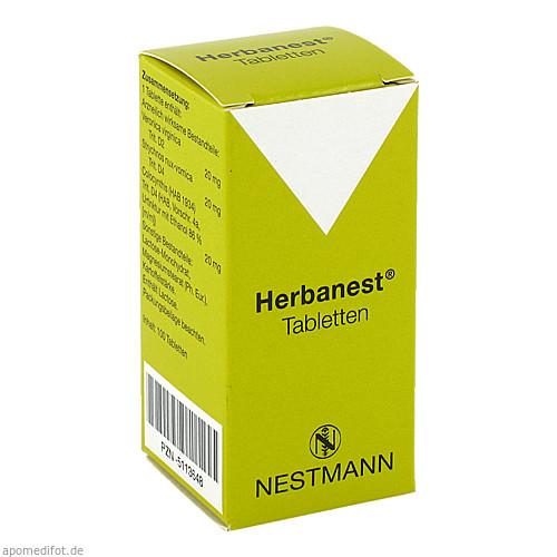 Herbanest Tabletten, 100 ST, Nestmann Pharma GmbH