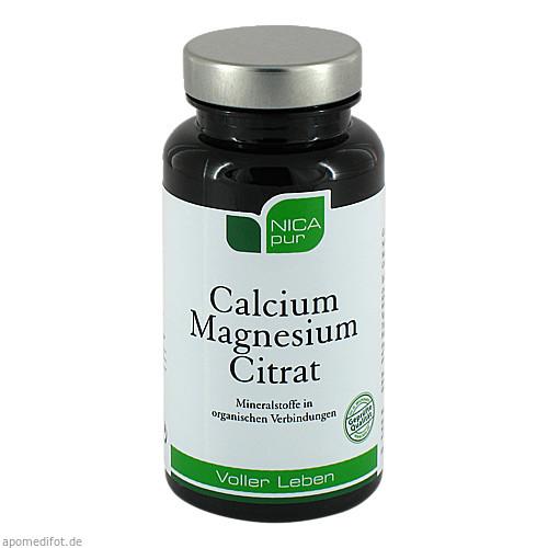 NICApur Calcium Magnesium Citrat, 60 ST, Nicapur Supplements GmbH & Co. KG