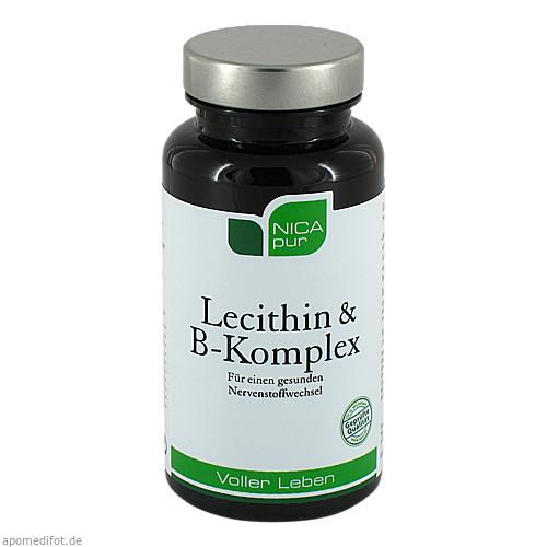 NICApur Lecithin B-Komplex, 60 ST, NICApur GmbH & Co. KG