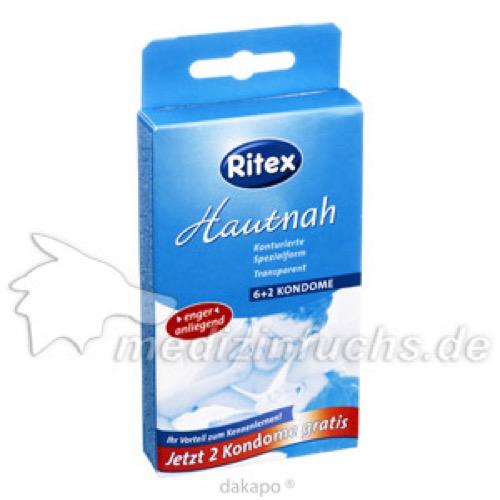 Ritex Hautnah Kondome, 6 ST, Ritex GmbH