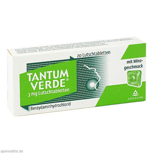 Tantum Verde 3mg Lutschtabletten, 20 ST, ANGELINI Pharma Österreich GmbH