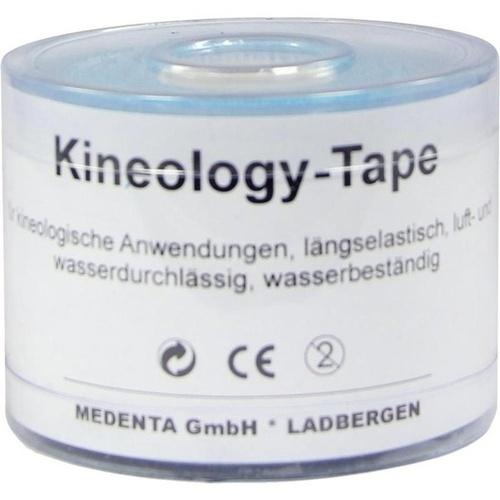 Kineology Tape blau 5mX5cm, 1 ST, Medenta GmbH