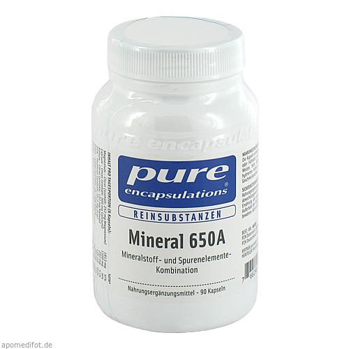 PURE ENCAPSULATIONS MINERAL 650A, 90 ST, Pro Medico GmbH