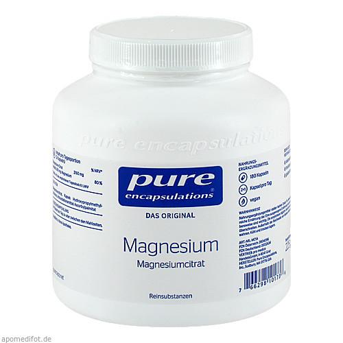 PURE ENCAPSULATIONS MAGNESIUM MAGNESIUMCITRAT, 180 ST, Pro Medico GmbH