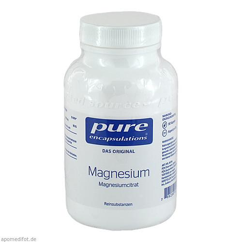 PURE ENCAPSULATIONS MAGNESIUM MAGNESIUMCITRAT, 90 ST, PRO MEDICO HANDELS GMBH