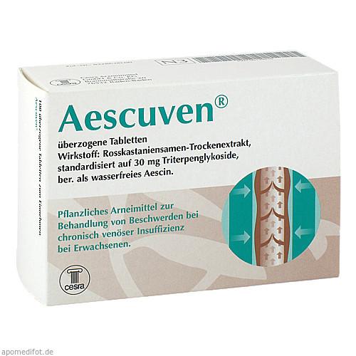 Aescuven, 100 ST, Cesra Arzneimittel GmbH & Co. KG