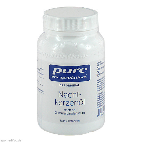 PURE ENCAPSULATIONS NACHTKERZENOEL, 100 ST, PRO MEDICO HANDELS GMBH