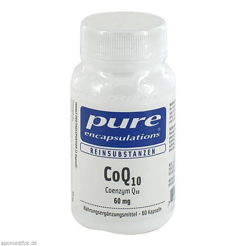 PURE ENCAPSULATIONS COQ10 60MG, 60 ST, Pro Medico GmbH