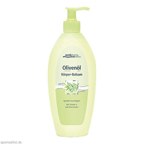 Olivenöl Körper-Balsam im Spender, 500 ML, Dr. Theiss Naturwaren GmbH