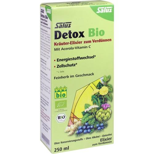 DETOX Bio Kräuter-Elixier zum Verdünnen Salus, 250 ML, SALUS Pharma GmbH