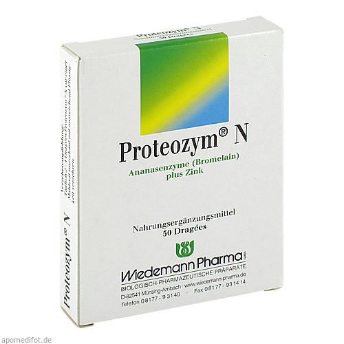 Proteozym N, 50 ST, Wiedemann Pharma GmbH