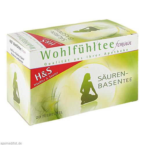 H&S Wohlfühltee feminin Säuren Basen Tee, 20X1.8 G, H&S Tee - Gesellschaft mbH & Co.