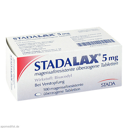 STADALAX 5 mg magensaftressistente überz. Tablette, 100 ST, STADA GmbH