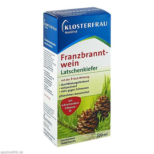 Klosterfrau Franzbranntwein Dosierfl.Latschenkief., 200 ML, MCM KLOSTERFRAU Vertr. GmbH