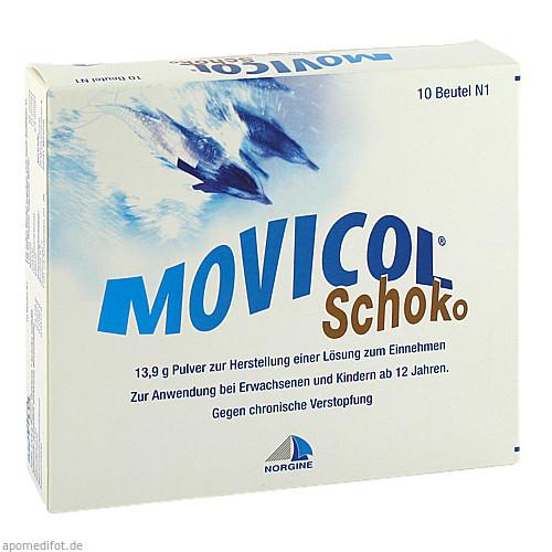 Movicol Schoko, 10 ST, Norgine GmbH