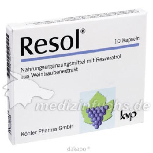 Resol, 10 ST, Köhler Pharma GmbH