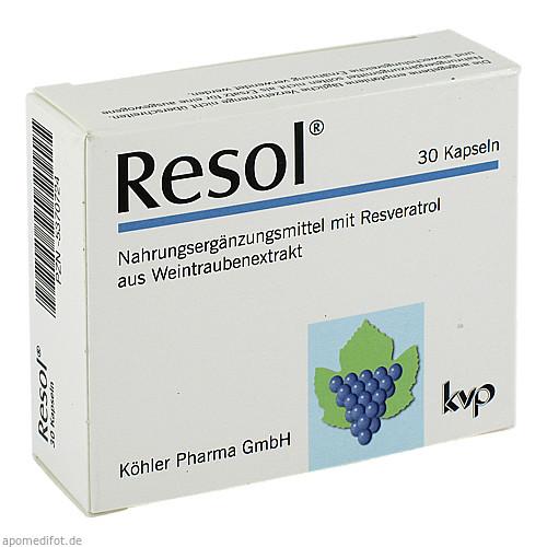 Resol, 30 ST, Köhler Pharma GmbH