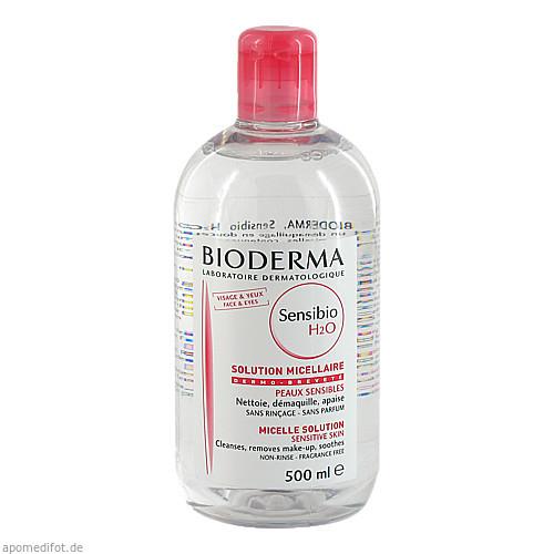 Bioderma Sensibio H20 Reinigende Lösung, 500 ML, Aktiv-Derma GmbH