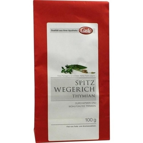 Spitzwegerich-Thymian-Tee Caelo HV-Packung, 100 G, Caesar & Loretz GmbH