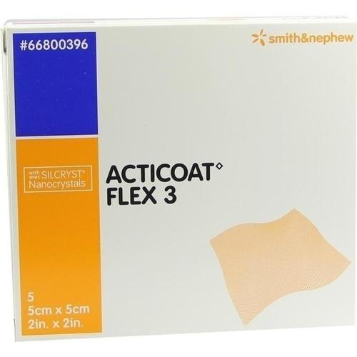 Acticoat Flex 3 5x5cm, 5 ST, Smith & Nephew GmbH