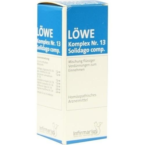 Loewe Komplex Nr.13 Solidago comp., 50 ML, Infirmarius GmbH