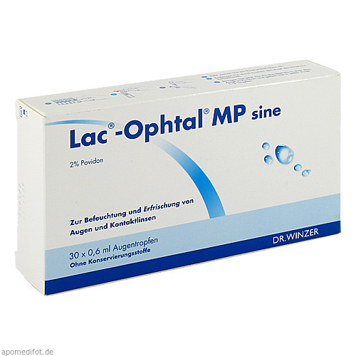 Lac-Ophtal MP sine, 30X0.6 ML, Dr. Winzer Pharma GmbH