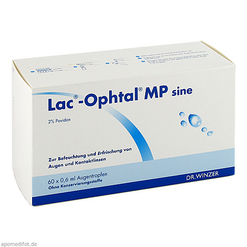 Lac-Ophtal MP sine, 60X0.6 ML, Dr. Winzer Pharma GmbH