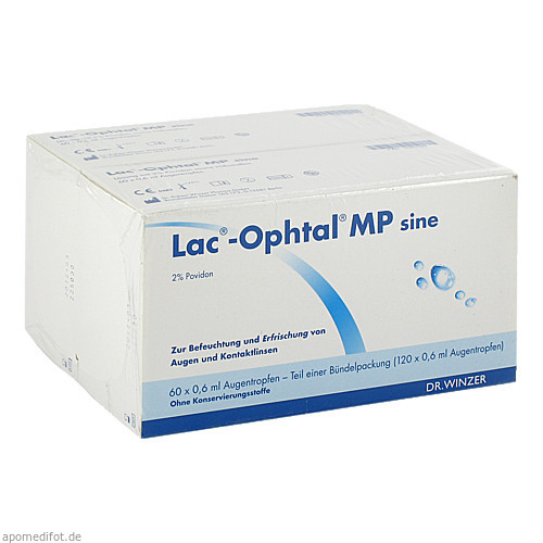 Lac-Ophtal MP sine, 120X0.6 ML, Dr. Winzer Pharma GmbH