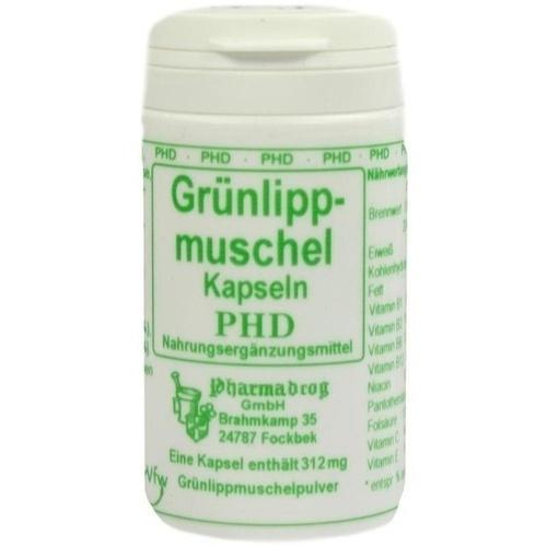 Grünlippmuschelpulver Kapseln, 60 ST, Pharmadrog GmbH