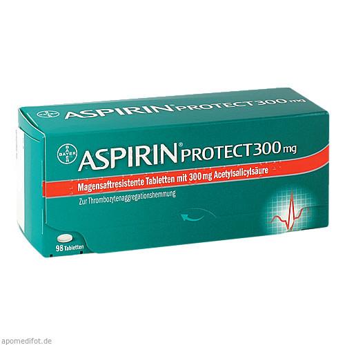 Aspirin Protect 300mg, 98 ST, Bayer Vital GmbH GB Pharma