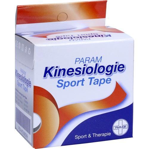 KINESIOLOGIE Sport Tape 5 cmx5 m rot, 1 ST, Param GmbH