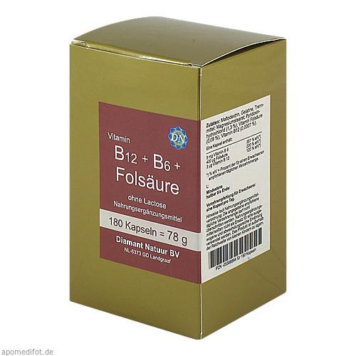 B12 + B6 + Folsäure ohne Lactose, 180 ST, Fbk-Pharma GmbH