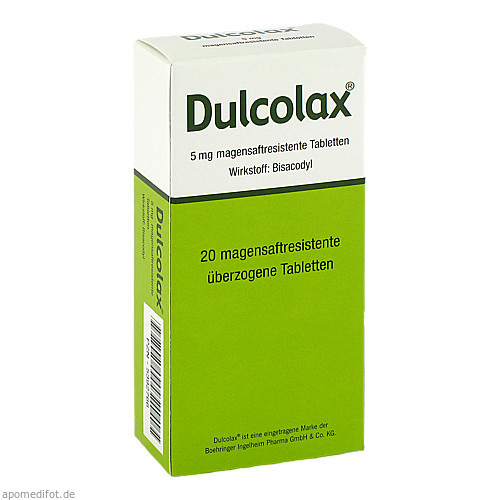 DULCOLAX Dragees magensaftresistente Tabletten, 20 ST, Abis-Pharma