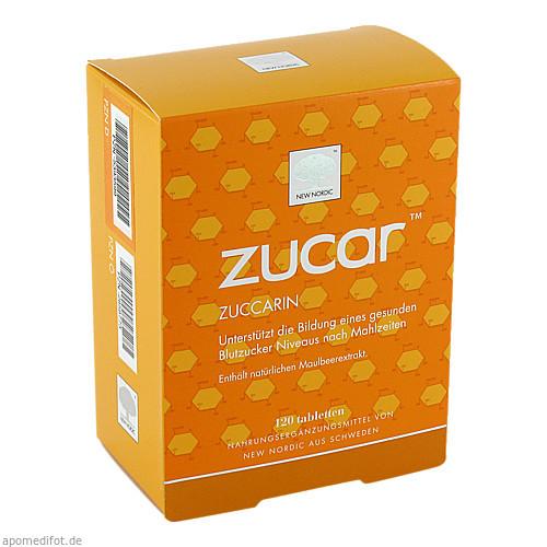 Zucar Zuccarin, 120 ST, New Nordic Deutschland GmbH