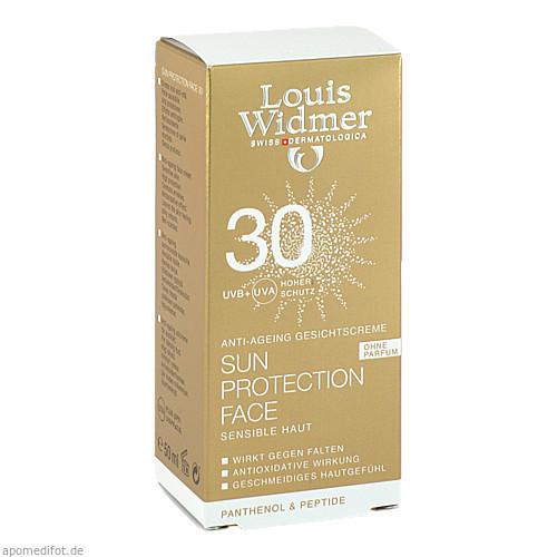 Widmer Sun Protection Face 30 nicht parfümiert, 50 ML, Louis Widmer GmbH