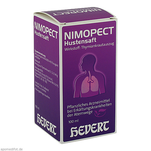 Nimopect Hustensaft, 100 ML, Hevert Arzneimittel GmbH & Co. KG