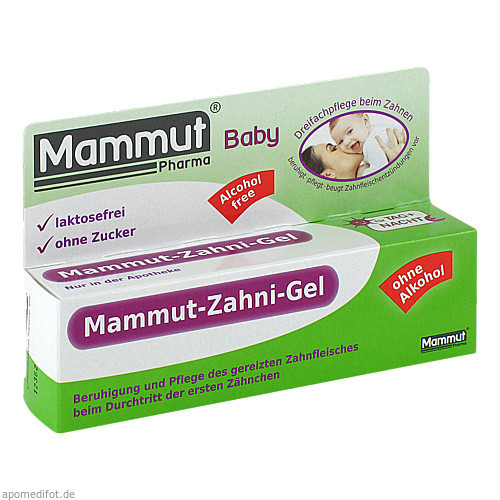 Mammut Baby Zahni-Gel, 10 ML, Mammut Pharma GmbH