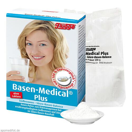 Flügge Basen-Medical Plus Basen-Pulver, 200 G, Salus Pharma GmbH