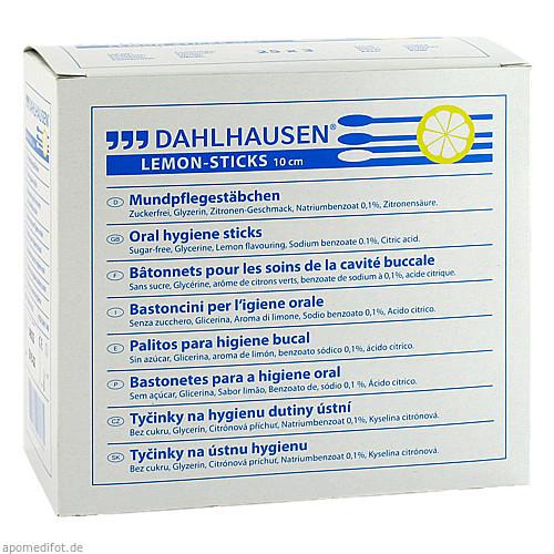 Lemon-Sticks 10cm, 3X25 ST, P.J.Dahlhausen & Co. GmbH