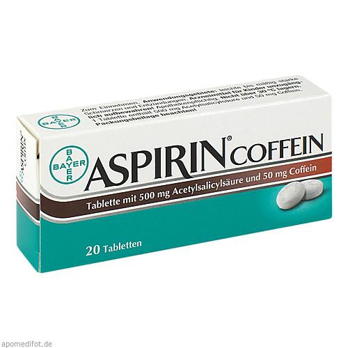 Aspirin Coffein, 20 ST, Bayer Vital GmbH