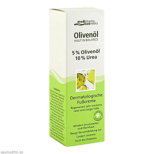 Haut in Balance Olivenöl Fußcr. 5%Olivenöl 10%Urea, 100 ML, Dr. Theiss Naturwaren GmbH
