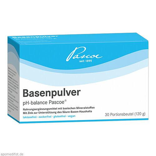 Basenpulver pH-balance Pascoe, 30X4 G, PASCOE pharmazeutische Präparate GmbH